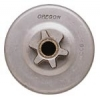 "HUSQVARNA CHAINSAW MODEL 34 CONSUMER SPUR SPROCKET WITH 3/8"" PITCH & 6 TOOTH"