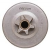 "Consumer Spur sprocket 3/8"" Pitch-6 Tooth Fits Husqvarna Chainsaws."