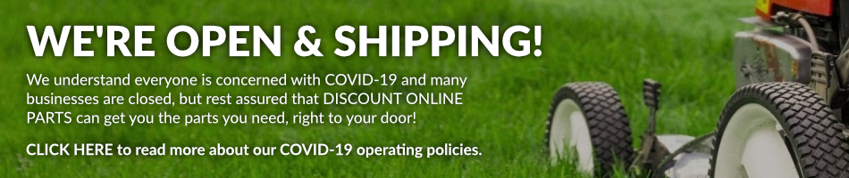 Discount Online Parts - COVID 19 Operating Policies